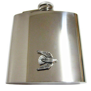 Falcon Bird Large Flask